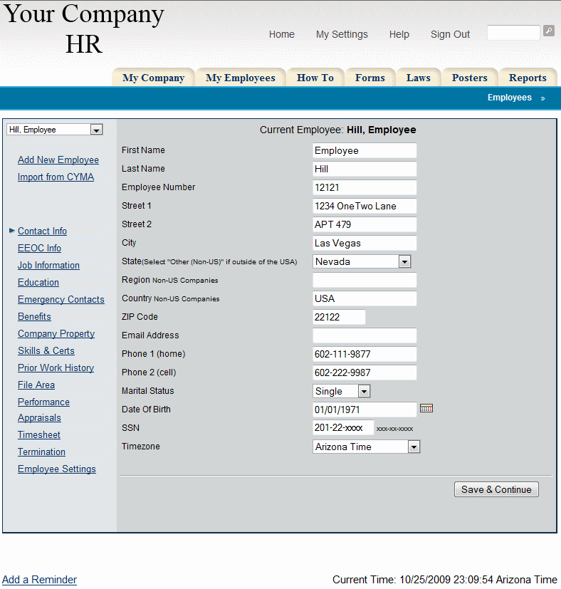 Online HRMS Private Label Employee Management