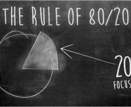 Effectively applying the 80/20 rule in your business